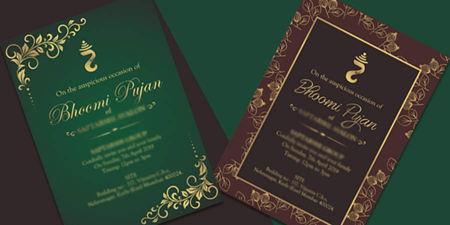Invitation Card Design Service, Mumbai